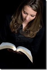 Real-woman-reading-bible