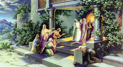 Resultado de imagen para Mateo 25,1-13