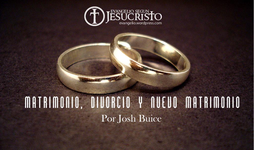Biblia Sobre El Matrimonio : Matrimonio divorcio y nuevo