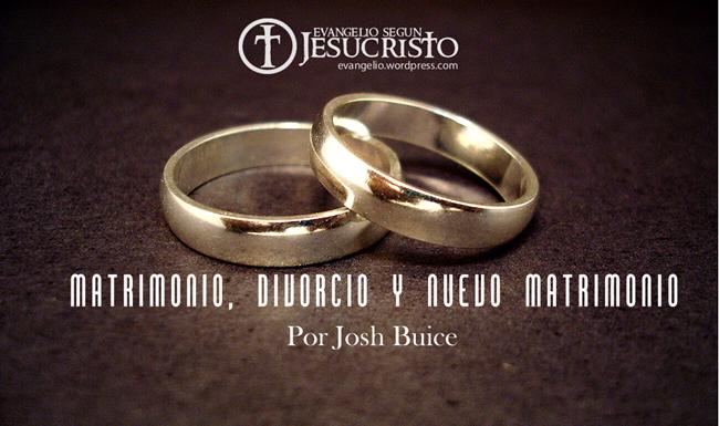El Matrimonio La Biblia : Matrimonio divorcio y nuevo
