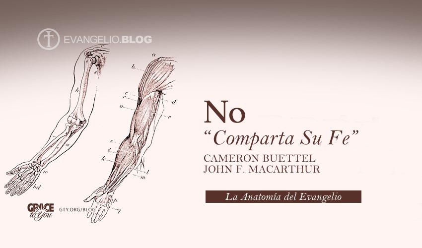 """No """"Comparta Su Fe"""" «"""