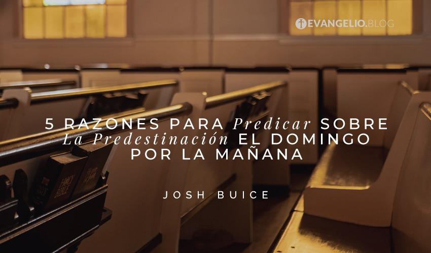 5 Razones Para Predicar Sobre La Predestinación El Domingo Por La